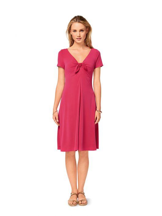 Сукня трикотажна розкльошеного силуету