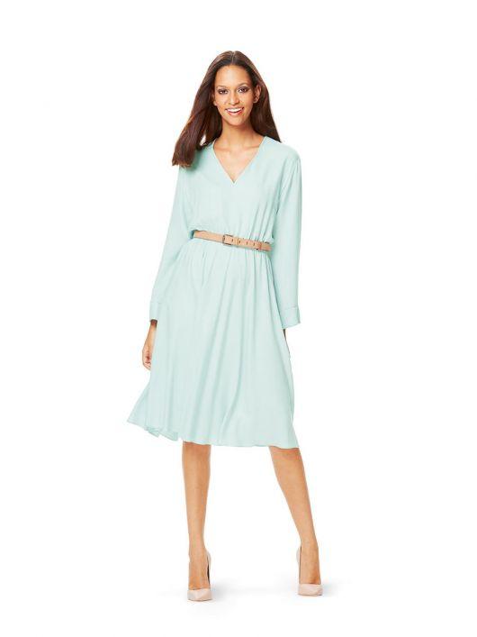 Сукня шовкова з пишною спідницею