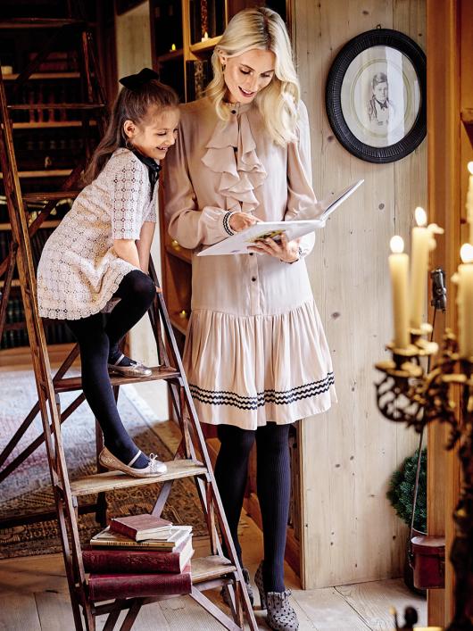 Сукня сорочкового крою з пишною спідницею