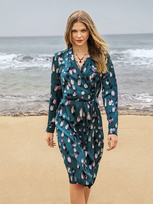Викрійка Сукня-сорочка із запахом  купити викрійки fd8586e86119e