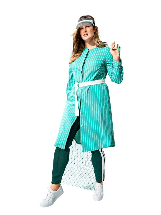 Сукня-сорочка з репсовим ременем