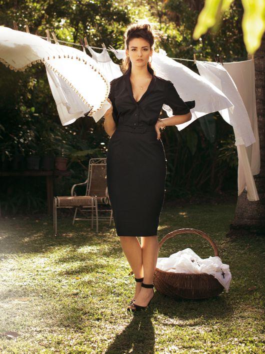 Сукня сорочкового крою з ременем