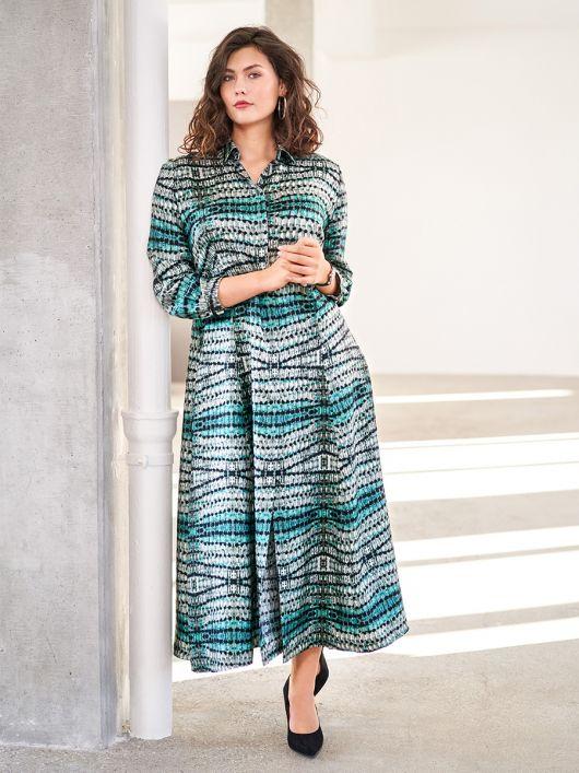 Сукня сорочкового крою силуету ампір