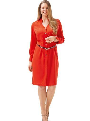 Сукня-сорочка з рукавами реглан-погон