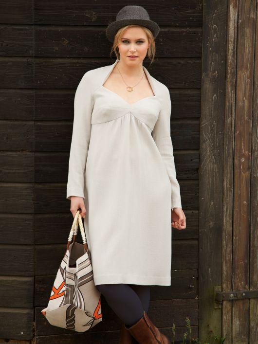 Сукня силуету ампір з рукавами реглан