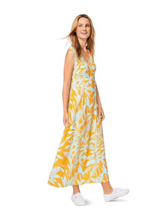 Сукня максі розкльошеного силуету