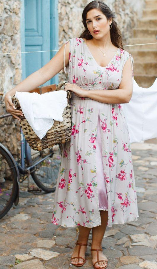 Сукня силуету ампір з чохлом