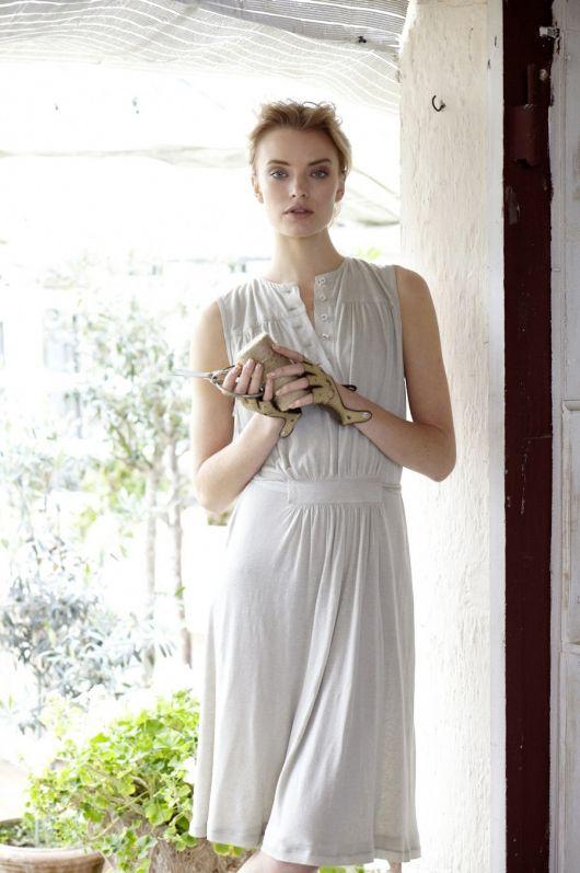 Сукня трикотажна зі зборками