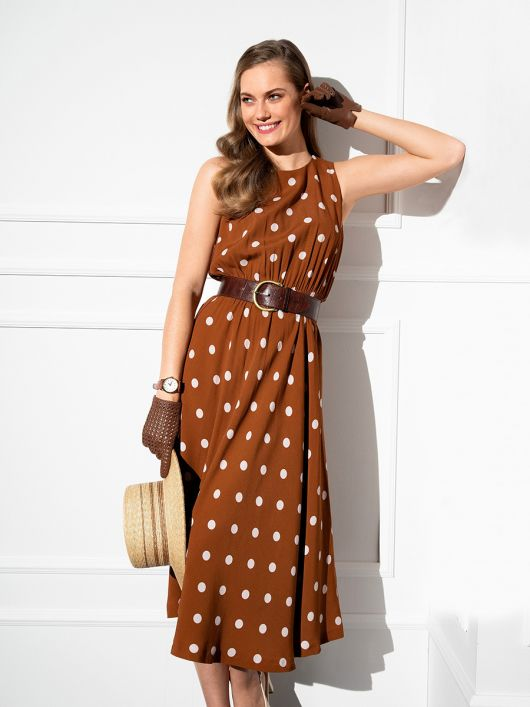 Платье в горошек из кинофильма «Красотка»
