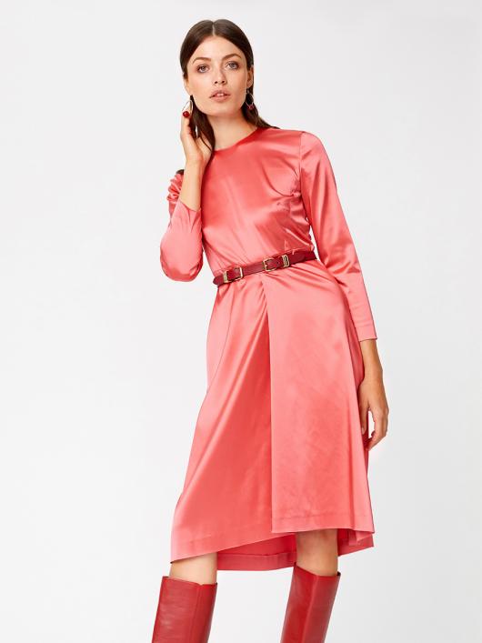 Сукня відрізна з асиметричною спідницею