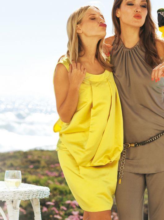 Сукня літня із заниженою талією