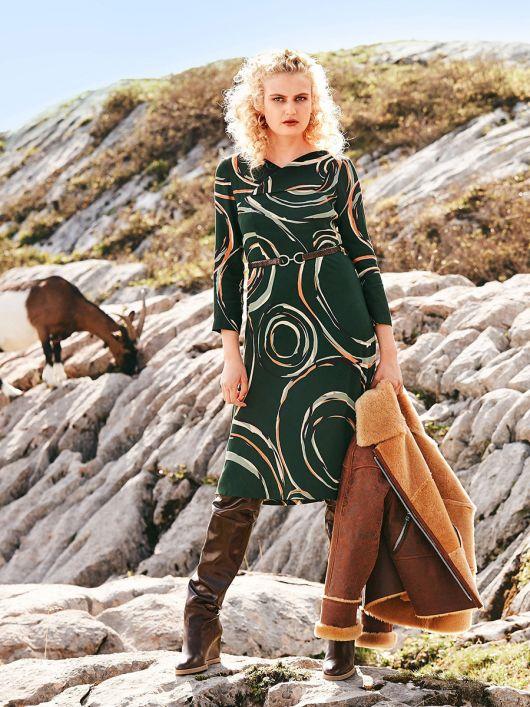 Платье отрезное с оригинальным лифом