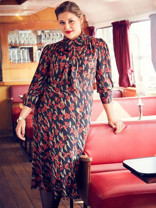 Сукня відрізна сорочкового крою