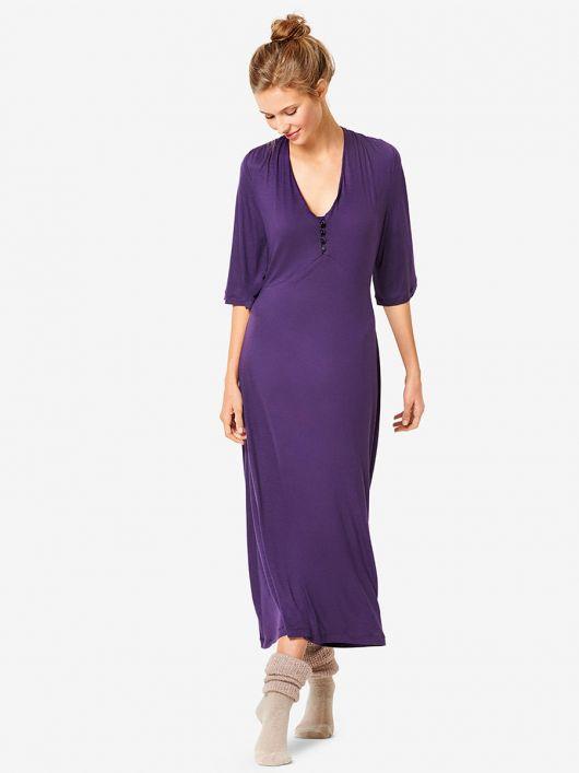 Сукня трикотажна з розкльошеними рукавами