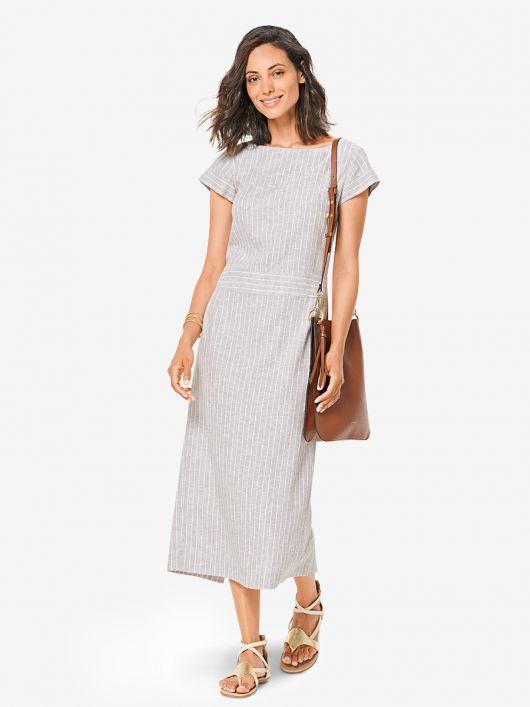 Сукня максі прямого крою