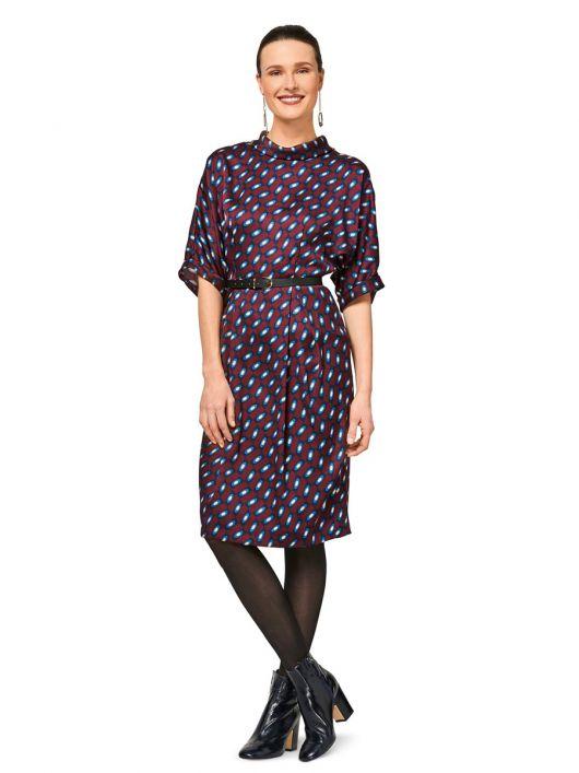 Сукня відрізна із застібкою на спинці