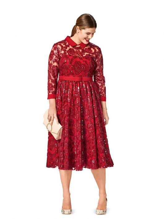 Сукня мереживна з пишною спідницею