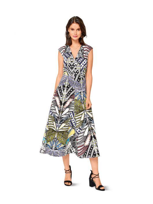 Сукня відрізна з приспущеною лінією плечей