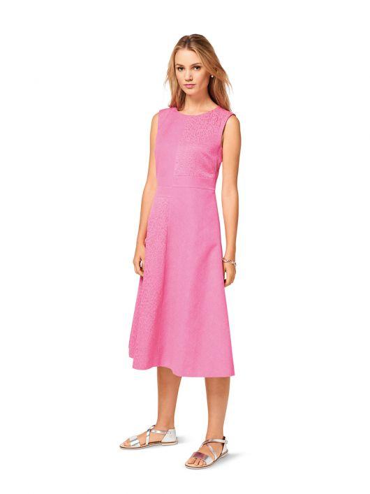 Сукня відрізна в стилі колор-блокінг