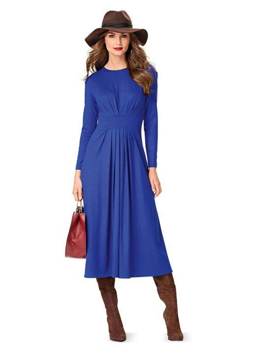 Сукня трикотажна силуету ампір