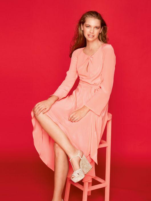Сукня приталена з асиметричною спідницею