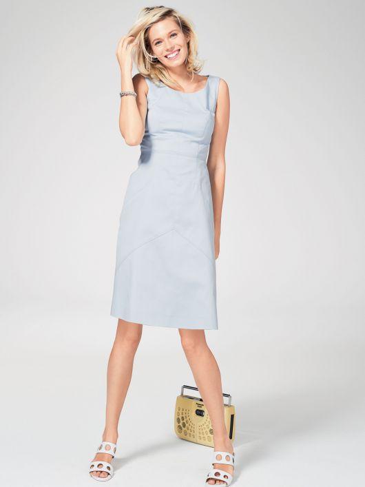 Сукня з рельєфними швами відрізна по талії  купити викрійки d89a774910d04