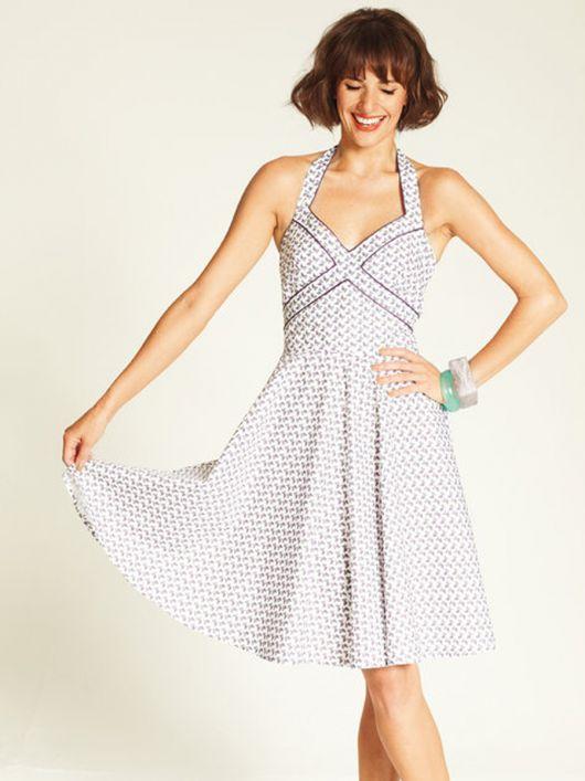 Сукня в стилі 50-х з відкритими плечима