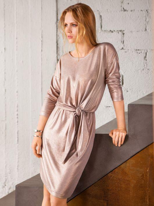 Сукня трикотажна з драпіровкою на талії  купити викрійки 0f5a2ea8e0c6e