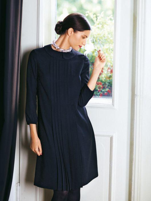 Сукня А-силуету зі складками