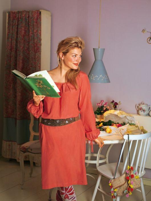Сукня батистова з довгими пишними рукавами реглан