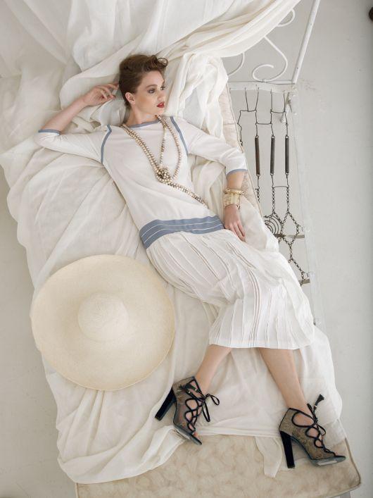 Сукня з заниженою талією в стилі 20-х років