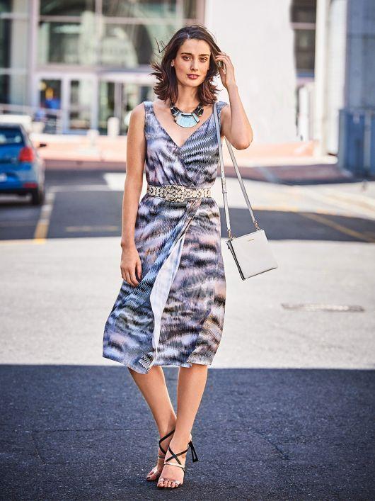 Сукня трикотажна на бретелях