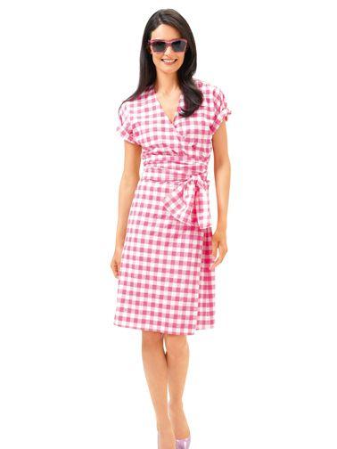 Сукня-кімоно із запахом і поясом