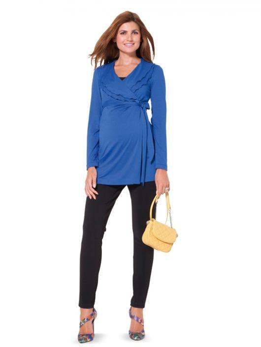 Блуза-туніка трикотажна для вагітних