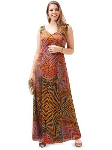 Сукня довга розкльошеного крою