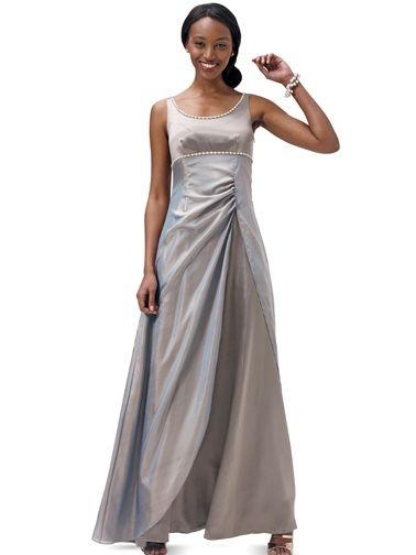 Сукня вечірня із розкльошеною спідницею