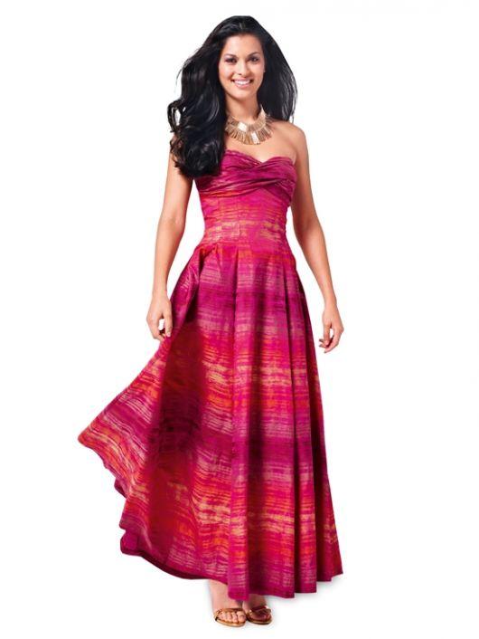 Сукня-бюстьє із драпірованим ліфом