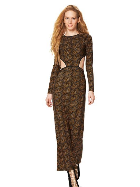 Сукня вечірня трикотажна з рукавами реглан