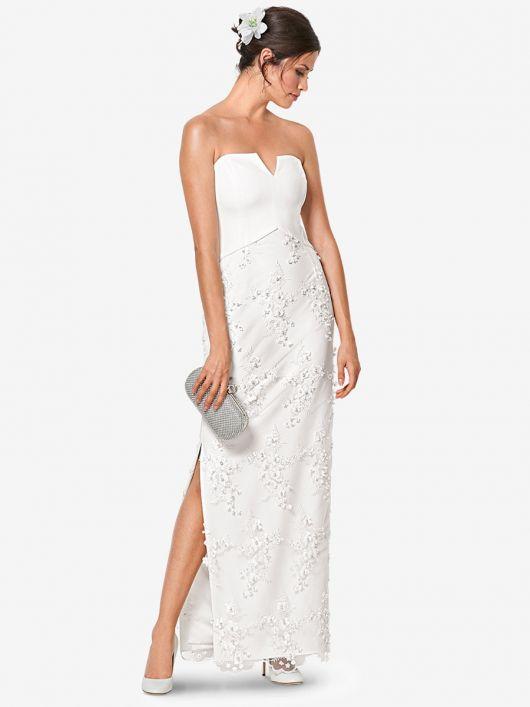 Весільна сукня-бюстьє