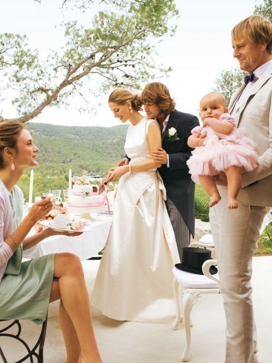 Сукня весільна довга в стилі 50-х
