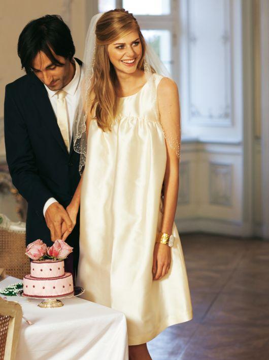 Сукня весільна в стилі «бебі-долл»