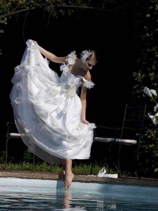 Сукня весільна з ліфом-корсажем