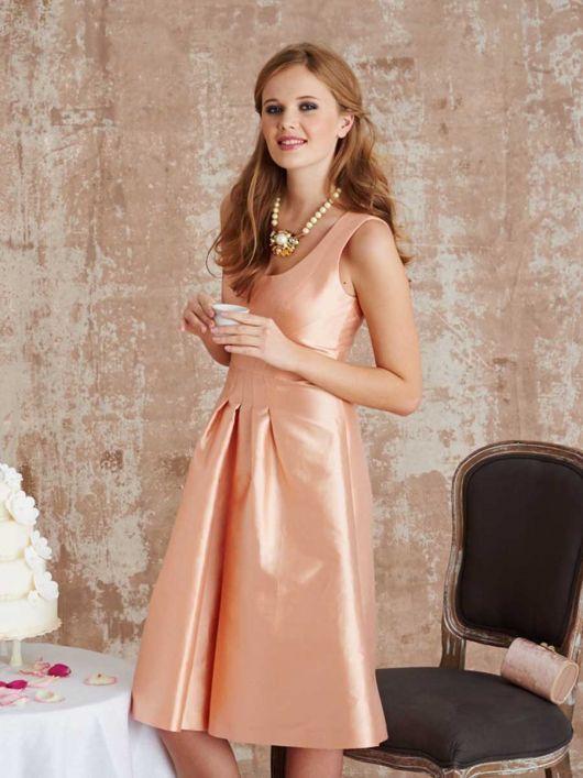 Сукня з відрізною спідницею