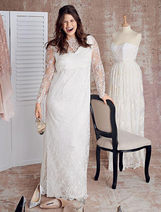 Сукня мереживна з нижньою сукнею