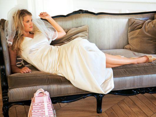 Сукня приталеного крою для нареченої