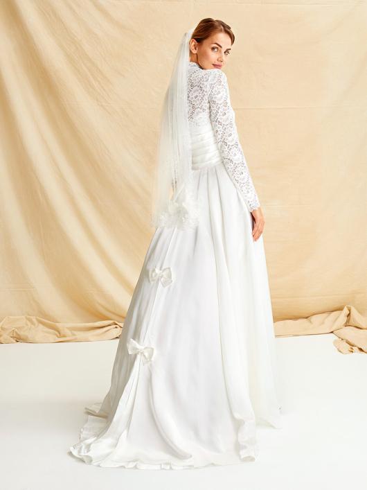 Сукня весільна в стилі Грейс Келлі