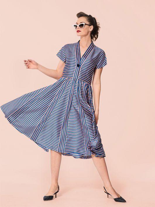 Сукня вінтажна з Burda Moden 6/1955