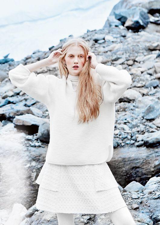 Пуловер прямого крою