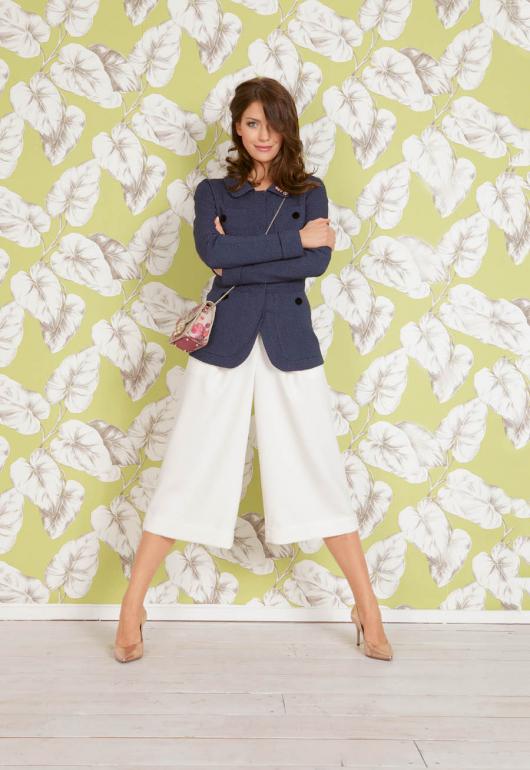 Спідниця-брюки з одворотами
