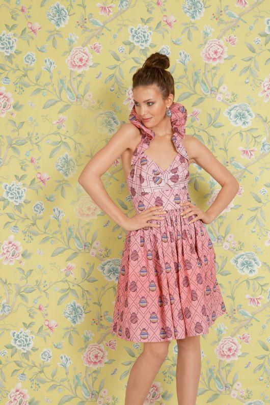 Сукня з бретеллю-петлею